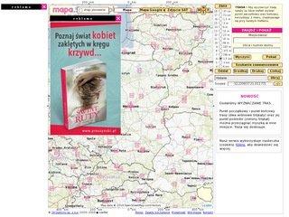 Mapa Szukacz Pl Mapa Polski Z Planami Miast
